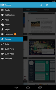 WordPress - screenshot thumbnail