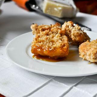 Crunchy Asiago Chicken Nuggets.