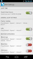 Screenshot of ping4alerts!