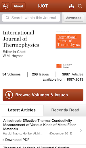 Intl Journal of Thermophysics
