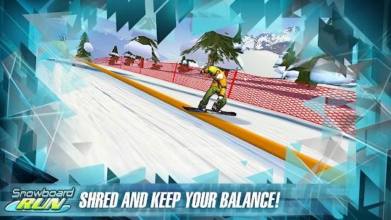 Snowboard Run - screenshot thumbnail