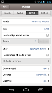 VeeManager App - screenshot thumbnail