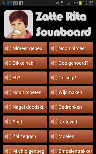 Zatte Rita Soundboard