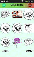 Screenshot of Memes Quotes Smileys for chat