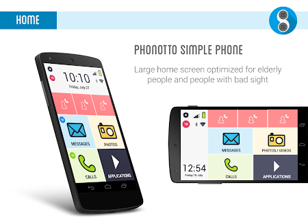 Phonotto Simple Phone Launcher versionName='1.10.6 screenshot 984598