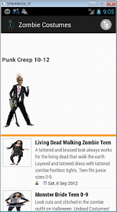 Zombie Costumes screenshot 0