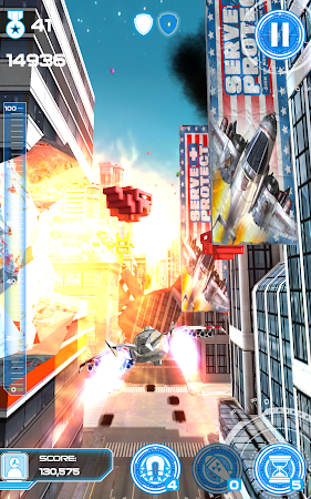 Jet Run: City Defender 1.32 screenshot 154132