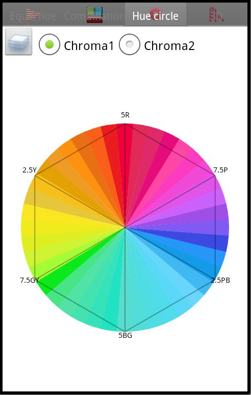 Munsell Color Chart Screenshot