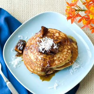 Gluten Free Pina Colada Pancakes