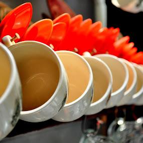 by Izz Razak - Artistic Objects Cups, Plates & Utensils