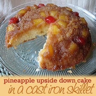 Pineapple Chunks Upside Down Cake Recipes.