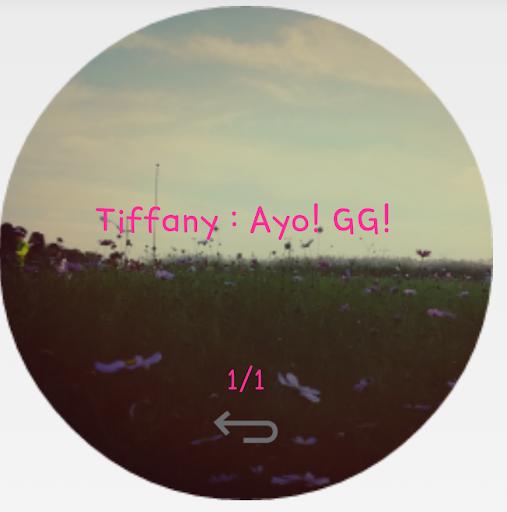 퀵서클 뷰 for G3 - 카톡 텔레그램등 앱 지원