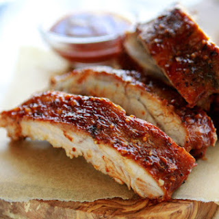 Easy Oven Baby Back Ribs.