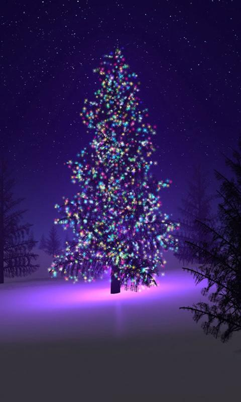 Christmas Tree Live Wallpaper - screenshot