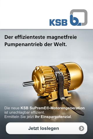 KSB SuPremE Effizienzrechner