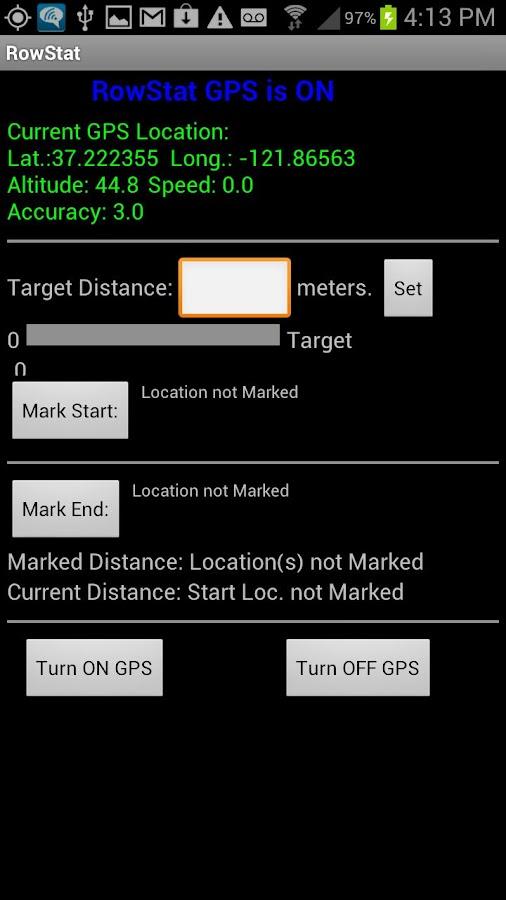 RowStat Lite- screenshot