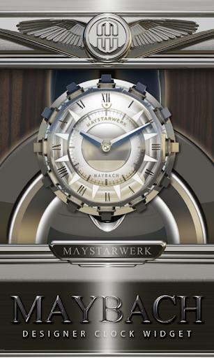 Clock Widget Maybach