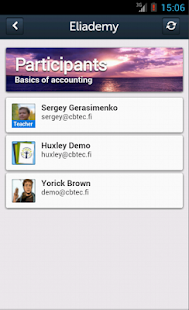 Eliademy (works with Moodle) - screenshot thumbnail