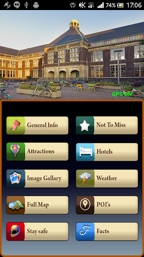 Delft Offline Map Guide