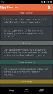 Famous Quotes - screenshot thumbnail