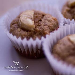 Gluten-Free Peanut Butter and Banana Muffins.