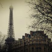 Gloomy city Atom Theme