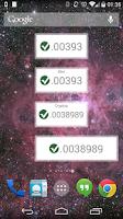 Screenshot of Simple Vertcoin Widget