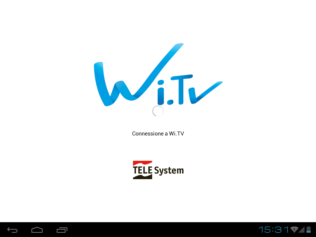 Wi.TV per tablet - screenshot
