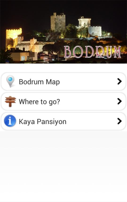 Bodrum Offline Guide and Map - screenshot
