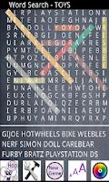 Screenshot of Word Search