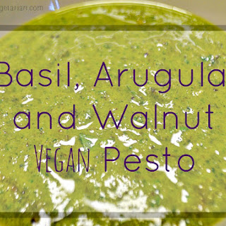Basil, Arugula, Walnut Pesto