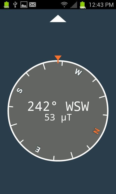 Digital Compass- screenshot