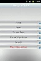 Screenshot of iStudy NCLEX-RN Free