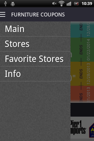 Furniture coupons android apps on google play for Z furniture coupon code