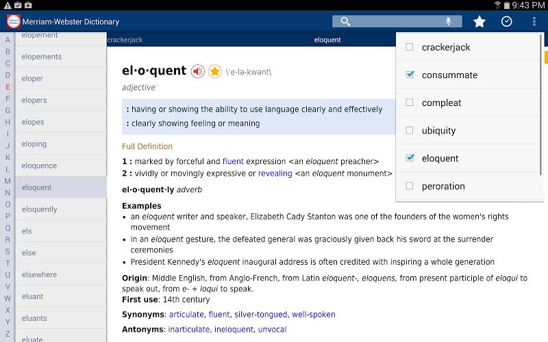 Dictionary - M-W Premium Screenshot 8