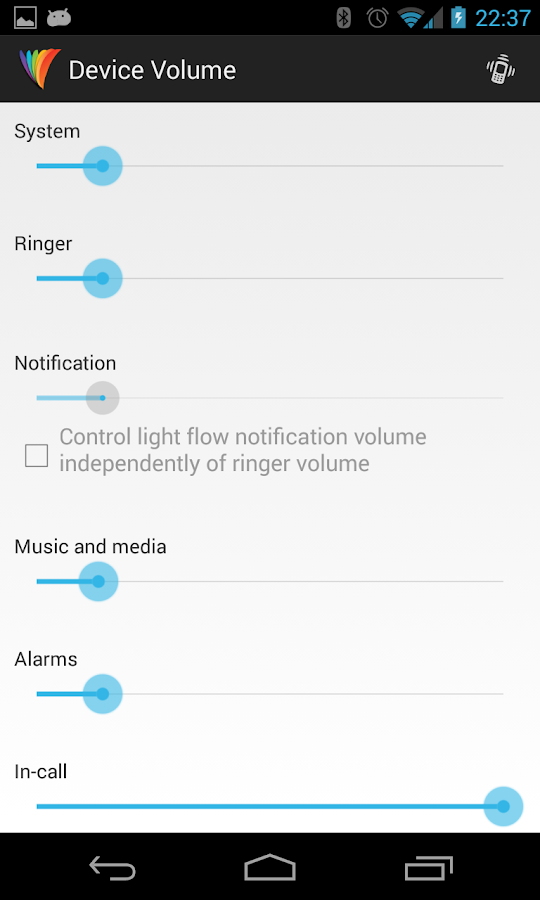 Light Flow Lite - LED Control - screenshot