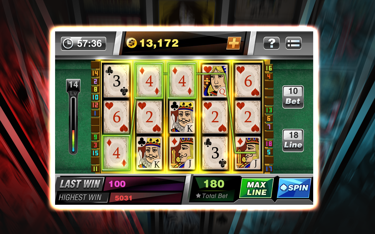 Poker machine app
