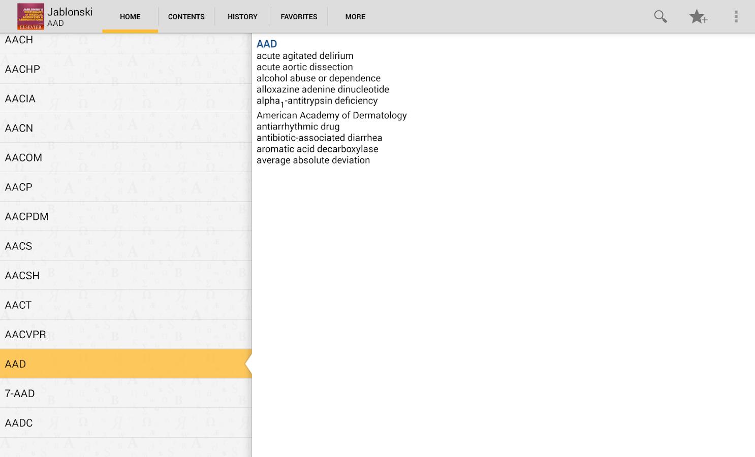 Medical Abbreviation Acronyms- screenshot