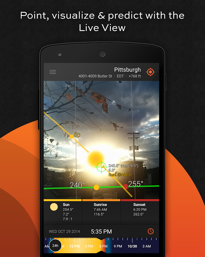 Sun Surveyor (Sun & Moon)- screenshot