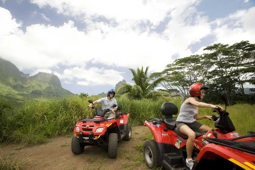 Four-Wheel-Excursion-Moorea - Four-wheel excursions on Mo'orea can include a trip to the volcanic crater that first created the island.