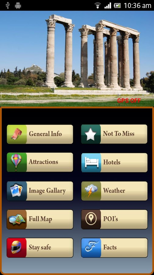 Athens Offline Travel Guide- screenshot