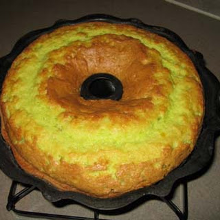 Midori Bundt Cake.