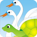 The Foolish Turtle -Kids Story icon