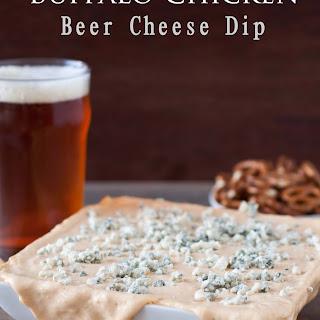 Buffalo Chicken Beer Cheese Dip.