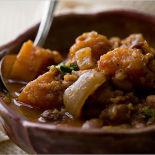 Andean Bean Stew with Winter Squash and Quinoa