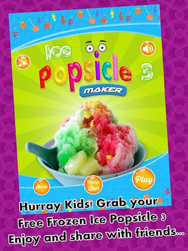 Frozen Ice Popsicles Maker 3