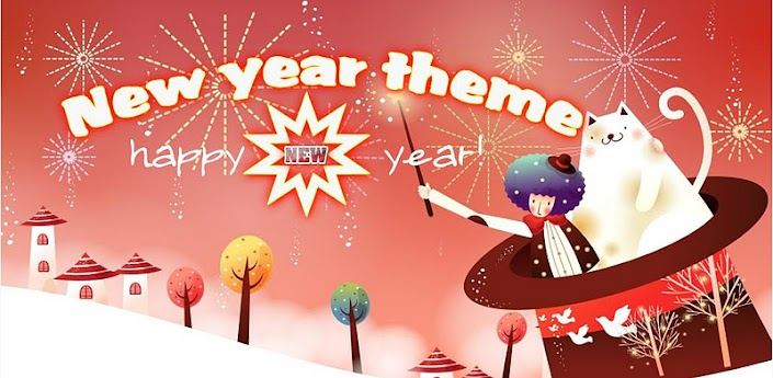 2012 New Year Theme GoLauncher