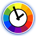 Color Daydream Clock icon