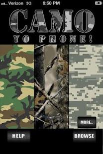 Camo Yo Phone - Camouflage