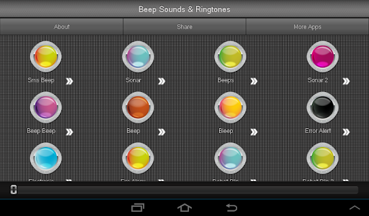 Beep Sounds Ringtones - screenshot thumbnail